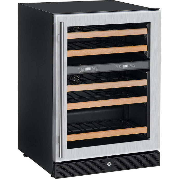 Wine Fridge, Dual Zone, Commercial or Residential, Dual Zone and Freestanding Width  600mm  Depth  595mm  Height  860mm