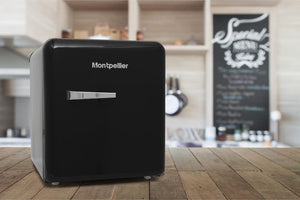 No Shipping Charge Montpellier MAB50C Table Top Retro Fridge-Montpellier-ChillingWine
