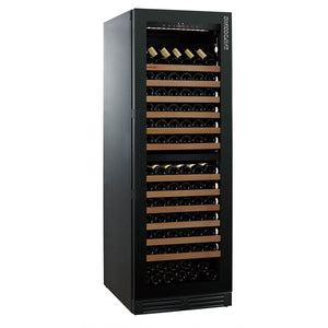 Save TODAY & Zero Delivery Charges SWISSCAVE dual zone WLB-360DF wine fridge from the Black Edition