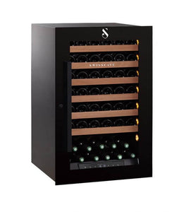Swisscave single zone WLI-160F wine chiller housing up 48 bottles-Swisscave-ChillingWine