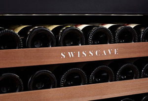 No Shipping Costs Swisscave single zone wine cooler WLI-60F with a 24 bottle capacity-Swisscave-ChillingWine