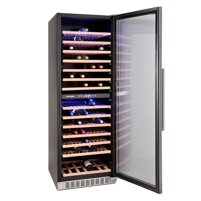 Montpellier WS166SDX 166 Bottle Wine Cooler-Montpelier-ChillingWine