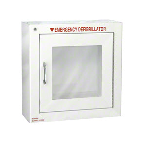 Standard Size AED Cabinet with Audible Alarm