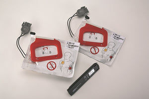 Physio-Control LIFEPAK CR® Plus/EXPRESS CHARGE-PAK™ W/2 Sets Electrode Pads