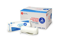 Conforming Gauze Roll Bandage, Sterile 3