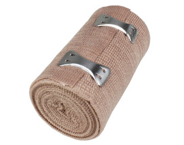 "3"" x 5 yd Elastic Bandage with 2 Fasteners - 1 Each"
