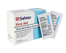 First Aid & Burn Cream .9gm. Pouch, 25 per box