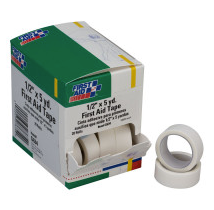 First Aid Tape - 1/2 inch x 5 yard - 20 Per Box