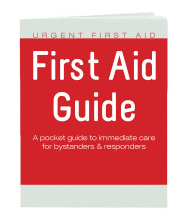 Urgent First Aid Guide with CPR & AED - 52 Pages