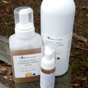 Goats Milk Foaming Hand Wash
