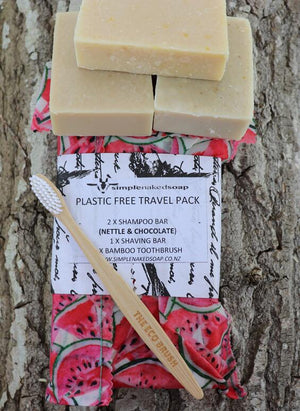 Plastic Free Travel Packs