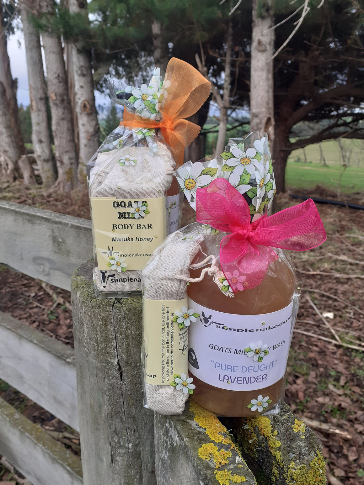 Gift Packs Body Wash & Soap