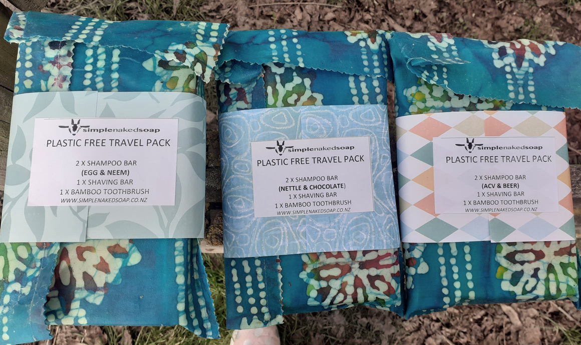 Plastic Free Bathroom & Travel Pack