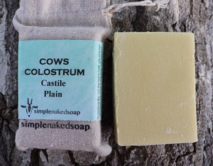 COWS Liquid Gold Milk Colostrum Castile Soap