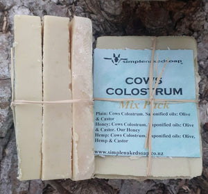 MIX PACK OF Colostrum Castile Soap