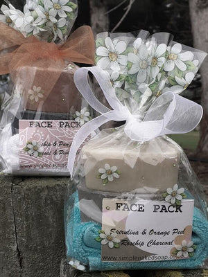 simplenakedsoap goat milk face gift pack