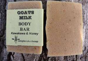 Goats Milk Kawakawa & Honey Soap