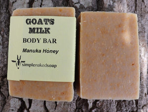 Goats Milk & MANUKA Honey Body Bar