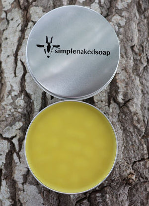 Skin Cream Avocado & Evening Primrose Tin (regular size)