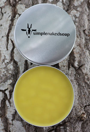 simplenakedsoap skin cream hemp and avocado large