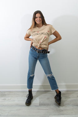 THE RUNAWAYS VINTAGE T- SHIRT