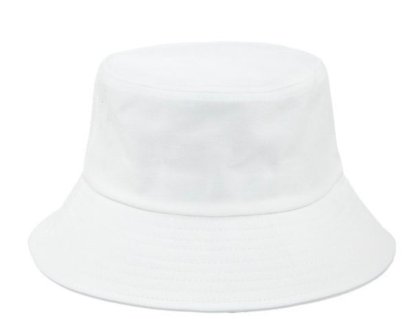 BUCKET HAT - WHITE & BLACK - RETAIL STORE
