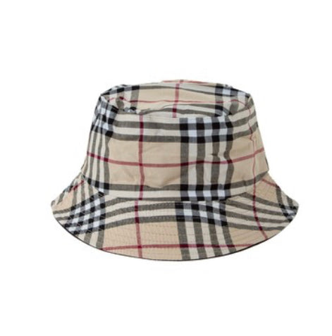 PLAID BUCKET HAT - RETAIL STORE