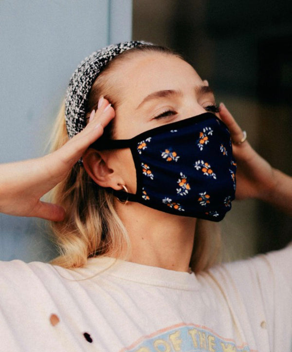 FACE MASK - MADE IN THE USA -  FLORAL - RETAIL STORE