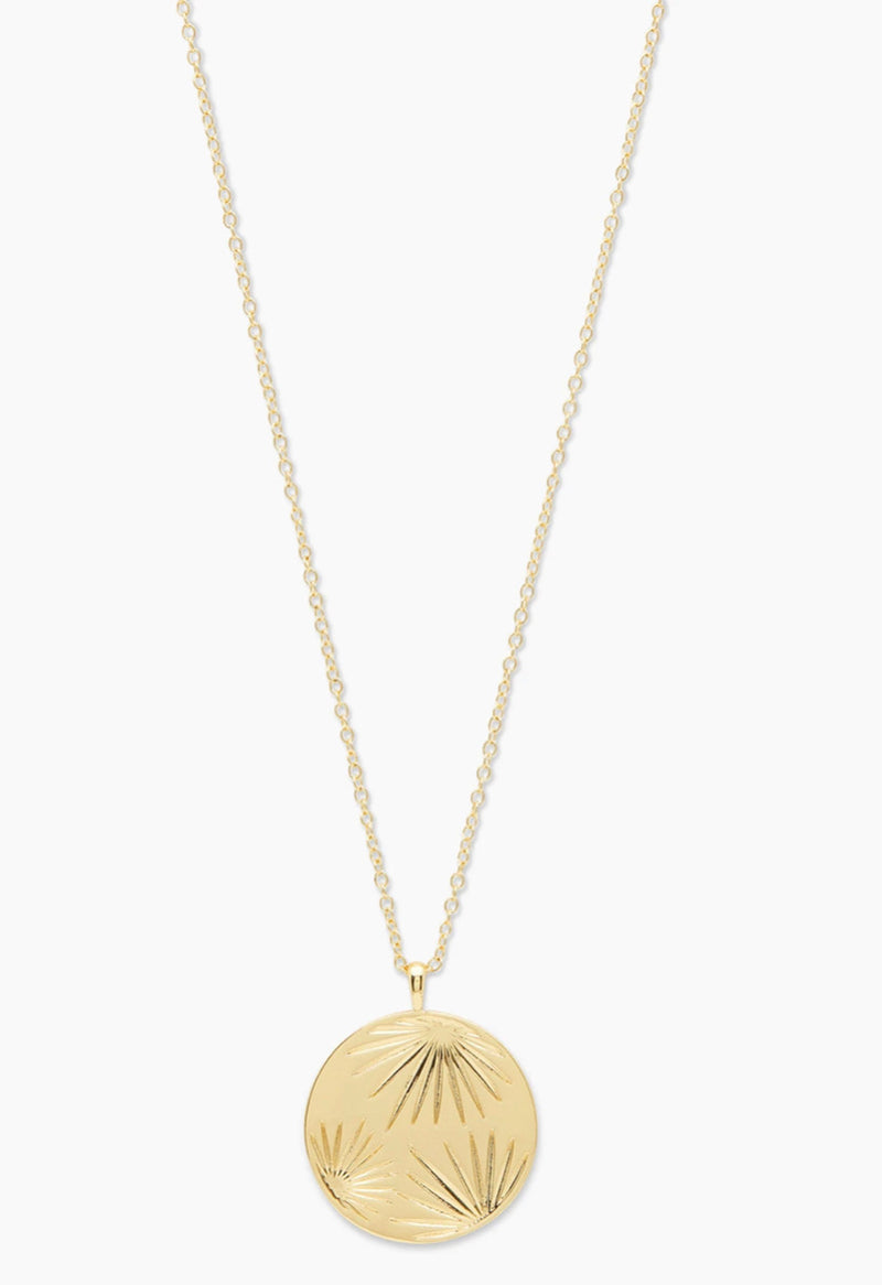 GORJANA AZUL COIN PENDANT NECKLACE - GOLD - RETAIL STORE