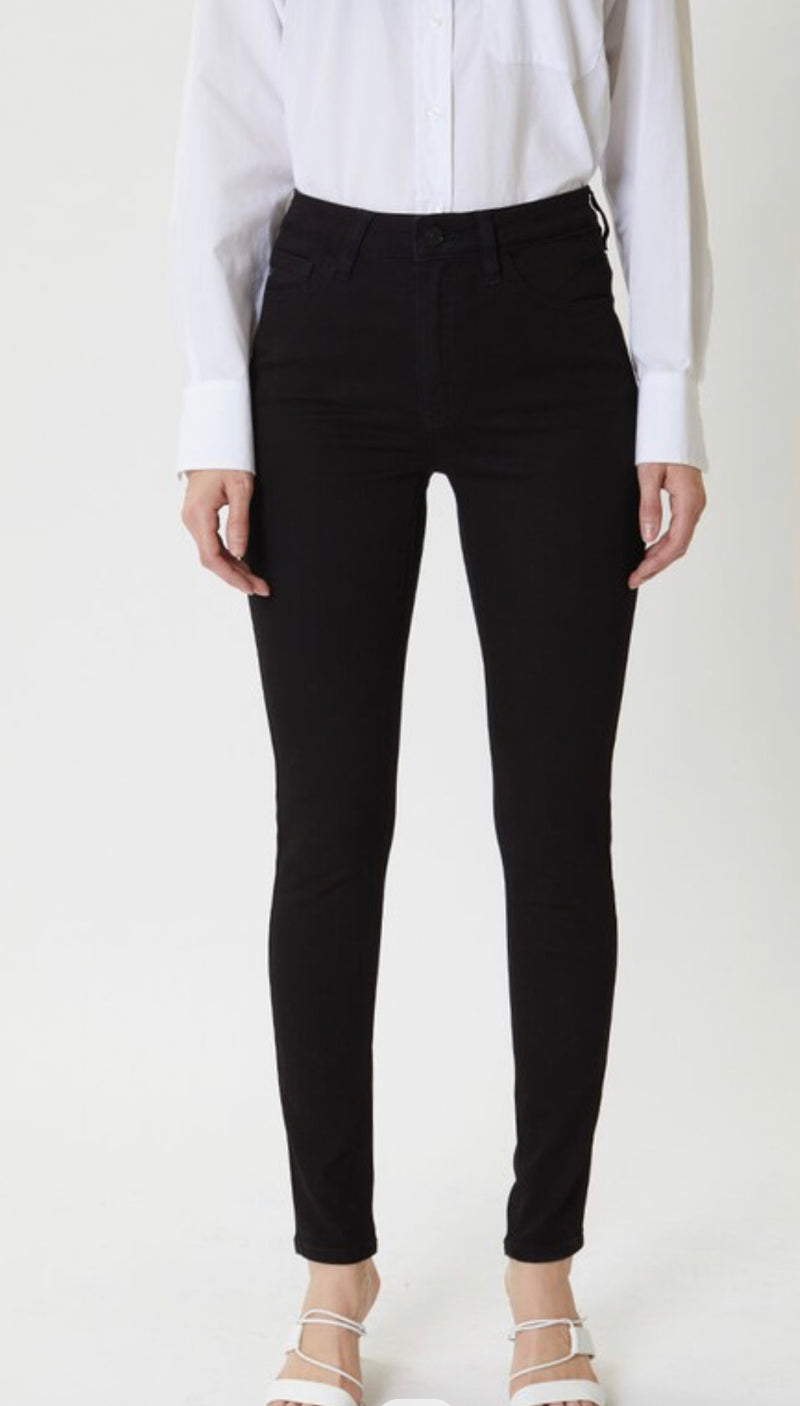 HIGH RISE JEGGING - BLACK - RETAIL STORE