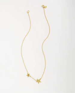 GORJANA SUPER STAR NECKLACE - SILVER & GOLD -RETAIL STORE