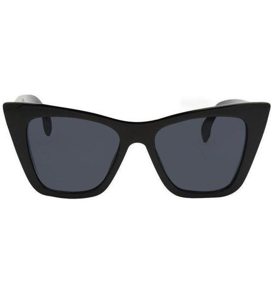 I-SEA ASHBURY SUNGLASSES - BLACK/SMOKE POLARIZED LENS