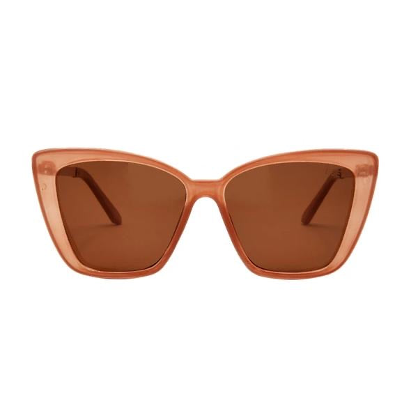 I-SEA ALOHA FOX SUNGLASSES - TAUPE/ POLARIZED
