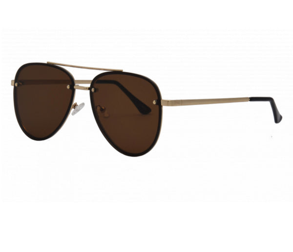 I-SEA RIVER SUNGLASSES - GOLD/BROWN POLARIZED