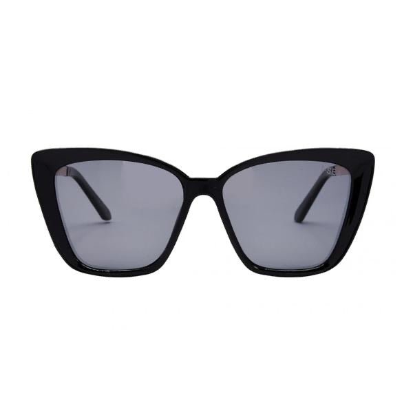 I-SEA ALOHA FOX SUNGLASSES - BLACK/POLARIZED