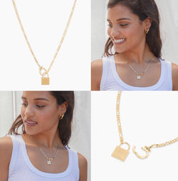 GORJANA CHARLIE NECKLACE - GOLD - RETAIL STORE