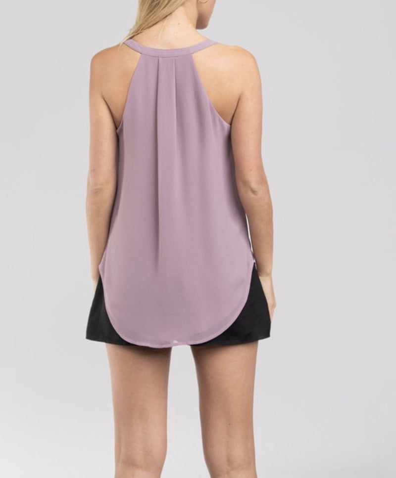 SURPLICE  TANK TOP - AVAILABLE IN 12 COLORS - RETAIL STORE