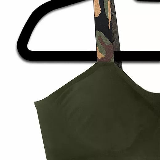 STRAP-ITS BRALETTE - OLIVE/CAMO - RETAIL STORE