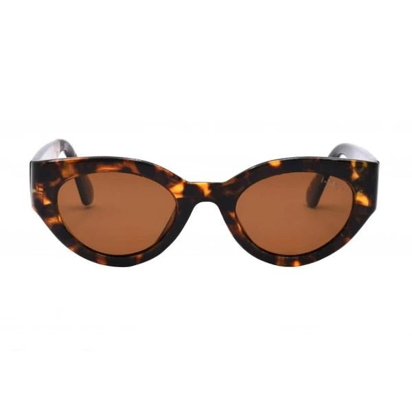 I-SEA ASHBURY SKY SUNGLASSES - TORT/ BROWN POLARIZED LENS