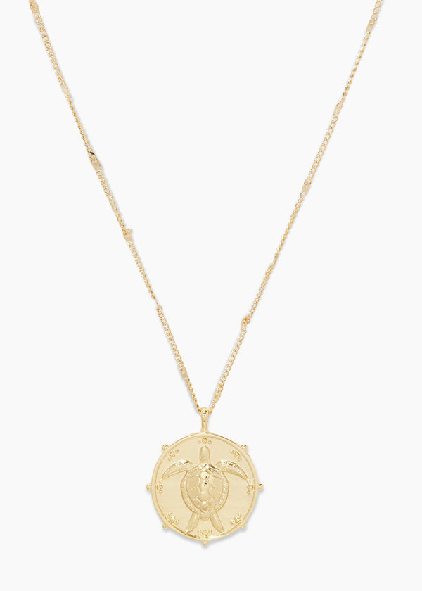 GORJANA TURTLE TOTEM NECKLACE - GOLD - RETAIL STORE