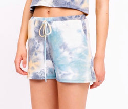 TIE DYE LOUNGE SHORTS - RETAIL STORE