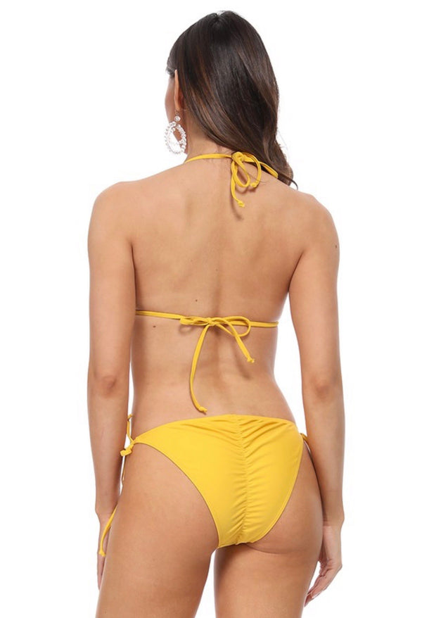 BIKINI-BOTTOM ONLY - AVAILABLE IN BLACK, PINK, MUSTARD - RETAIL STORE