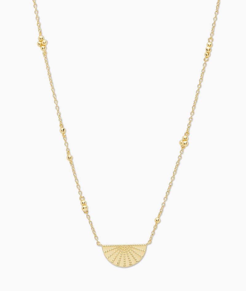 GORJANA COSTA NECKLACE - GOLD - RETAIL STORE