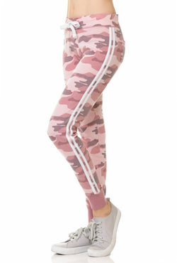 JOGGERS - DRAWSTRING - PINK CAMO - RETAIL STORE