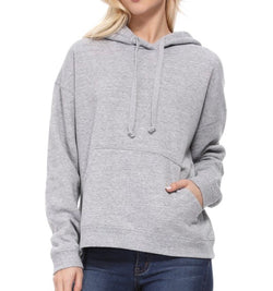 PULLOVER HOODIE - HEATHER GRAY - RETAIL STORE