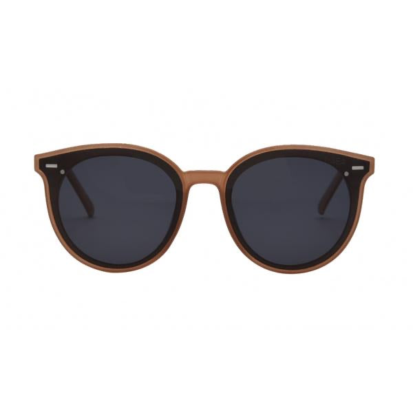I-SEA PAYTON SUNGLASSES - TAUPE/SMOKE POLARIZED