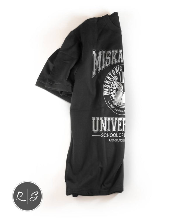 HP Lovecraft Miskatonic University T-Shirt