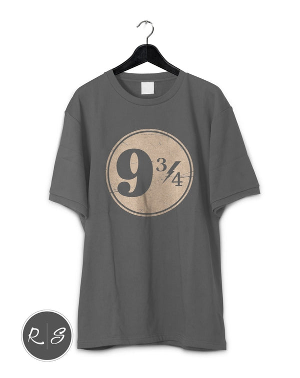 9 3/4 Nine Three Quarters Harry Potter Hogwarts T-Shirt