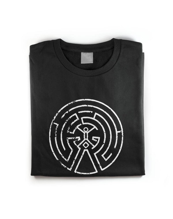 Westworld Maze Map Mens T-Shirt