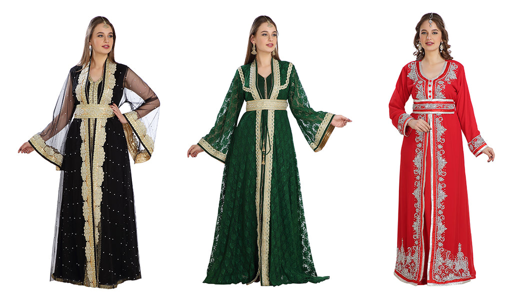 A Journey of Moroccan Takchita/Kaftan